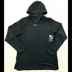 NIKE Alpha Fly Rush Football Pullover Hoodie